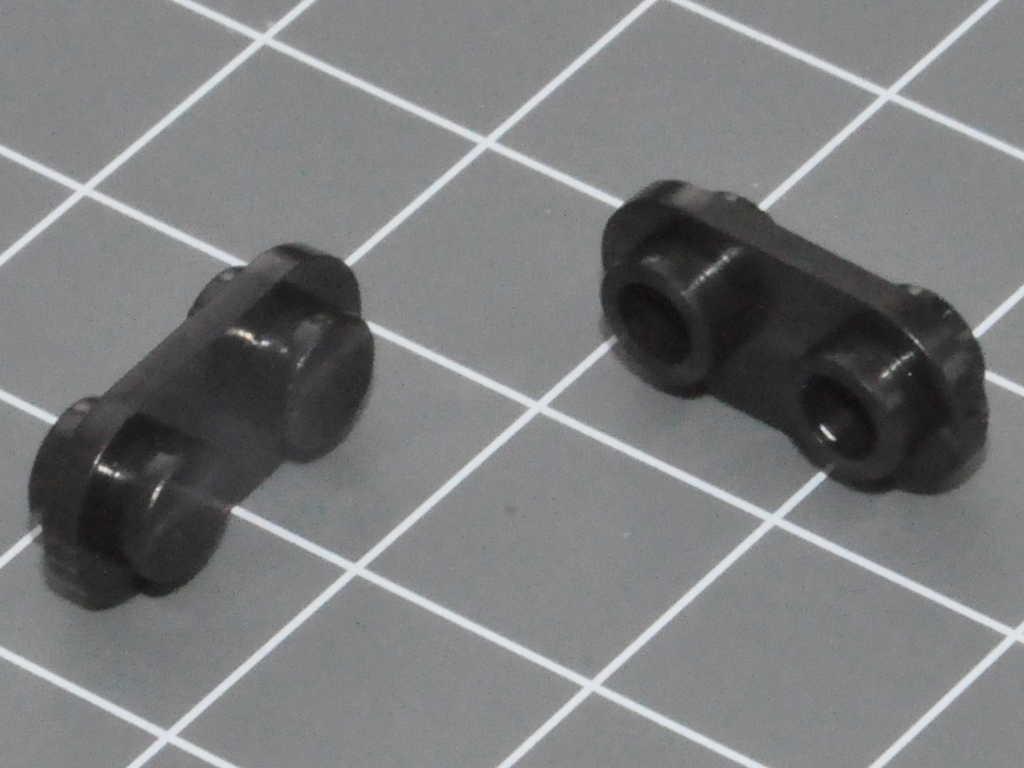 20 x LEGO® STEINE 1 x 1 NOPPE PLATTE 1ER MIT CLIP HALTER OBEN NEU 15712 HELLGRAU